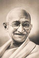 Framed Print - Mahatma Gandhi Indian Independence Leader (Picture Poster Art)