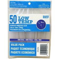 """Ad-Tech 203064 Low Temp Oval Mini Glue Sticks .28""""X4"""" 50/Pkg NEW"""