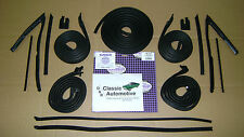 Weatherstrip 15pc Door/Roofrail/Trunk/Vertical/U-Jamb/Vent/Channel Run 2-Dr Cpe