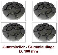 Gummiteller für Hebebühne D. 100 mm - Gummiauflagen - Auflageteller RAVAGLIOLI @