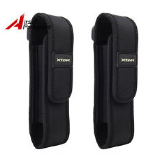 2X Nylon Holster Holder Belt Pouch Case Bag for Newest Cree Flashlight Torch