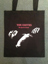THE SMITHS 'THE QUEEN IS DEAD' BLACK COTTON TOTE BAG