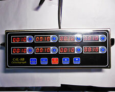 8 Channel Digital timer CAL-8B Burger basket shaking timing Kitchen Timers
