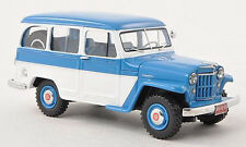 JEEP WILLYS Station Wagon 4x4 1954 Blue/White 44640 Neo 1:43