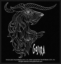 GOJIRA - Horns Patch Aufnäher 10x10cm