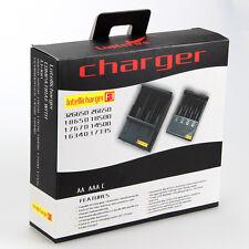 Li-ion/NiMH Chargeur pile Batterie 3.7v 32650 26650 18650 14500 16340 AAA AA