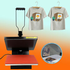 "15"" x 15"" Heat Press T-Shirt Heat Transfer Sublimation Machine DIY Printing"