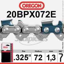 """Chaîne 20BPX072E OREGON .325"""". 1,3 mm. 72 maillons"""