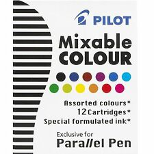 Pilot ICP31 Parallel Pen Refill - 12 Color Assortment (Pilot 77312)