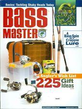 2006 Bassmaster Magazine: 225 Gift Idea/Tacling Shaky Heads Today/Crappie Lure