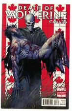 Death of Wolverine #4 (2014) Marvel NM/NM- Canada Variant