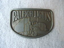 "Vintage Raleigh Lights Belt Buckle "" Awesome Collectable Buckle """