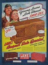 Young Lovers Look Ahead - 1941 Lane  Cedar Hope Chest Ad Altavista VA