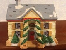 Noma Dickensville Collectables Porcelain House - Neighborhood House - 1991 - EUC