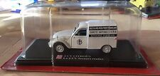 "DIE CAST 2 CV CITROEN "" LA 2 CV SECOURS ROUTIER "" SCALA 1/43 AUTO PLUS"