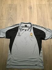 Real Madrid Champions League Polo Shirt 2004/05 42/44 Chest Rare And Vintage