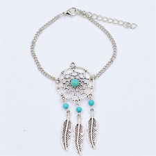 Alloy Feather Tassel Bracelet Fashionable Dreamcatcher Bracelet Jewelry
