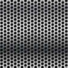 """Surplus Alloy 304 Stainless Steel Perforated Sheet 22GA - 12"""" x 48"""" (1Q)"""