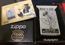 Vintage Series Windy Varga Windproof Lady Limited Edition Zippo Lighter