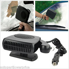 12V 2in1 Car Portable Ceramic Heater Cooler Dryer Blower Fan Defroster Demister