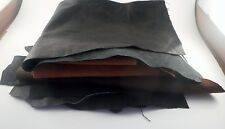 Scrap Leather Pieces 8 Ounces of Leather & Suede Scrap Pieces All Colors Grabag
