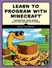 NEW Learn to Program With Minecraft by Craig Richardson Paperback Book (English)