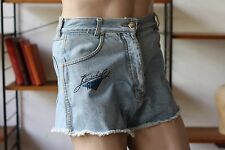 KUSCHELROCK Sony Music 1993 JEANS Shorts 90er True VINTAGE 90s beach Hotpants
