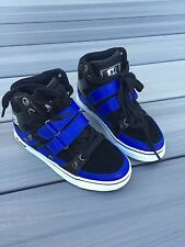 Vlado Knight Kids Shoes Sneakers Size 12 Y Black Blue Brand New