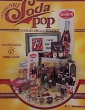 SODA-POP VALUE GUIDE COLLECTOR'S BOOK RED ROCK 7-UP ROOT BEER PEPSI COKE+
