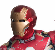 Avengers 2 Iron Man Mark 43 Adult 2-PIECE Helmet Mask Licensed 36253 New