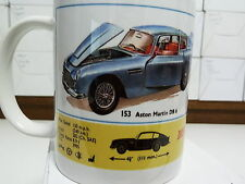 300ml COFFEE MUG, DINKY TOYS ASTON MARTIN DB 6