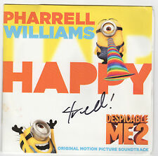 Happy [Single] Signed By Pharrell Williams Vinyl, Nov-2013, BLM Records