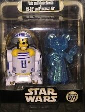 Disney Star Wars Weekends 2015 Pluto R2-D2 Minnie Holographic Leia LE Figure #16