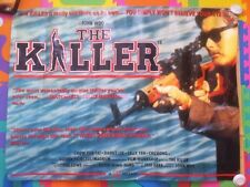 THE KILLER - ORIGINAL UK CINEMA QUAD POSTER John Woo Chow Yun Fat