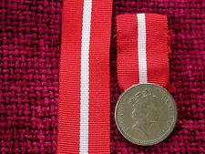 Replica  6 Inch RIBBON for WW1 Territorial Nursing Medals compare to original