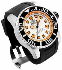 New Mens Invicta 14661 Pro Diver Swiss White Dial Rubber Strap Watch