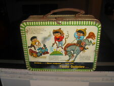 1960 CHOCO MILK Pancho Pantera TIN LITHO MEXICAN LUNCBOX Lunch Box RARE
