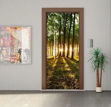 Door Sticker - Self-Adhesive Vinyl Decal - Fridge Decal - Wallpaper - model 1417