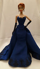 Fashion Royalty W Club FLAME BLUE VANESSA dressed doll MIB