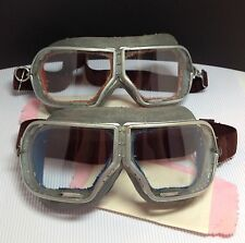 Russian aviation of world war II pilot Goggles motorcycle Steampunk 2 pieces