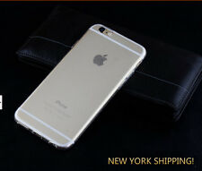 Ultra Thin Clear Crystal Rubber TPU Soft Case Cover For  iPhone 6 Plus 5.5''