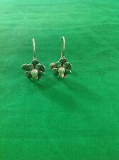 Silpada W1768 Pearl Love Bloom Earrings .925 Sterling Silver
