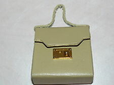 Franklin Mint Beige Handbag For Princess Diana Vinyl Doll