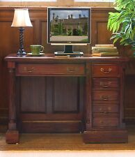 La Roque solid mahogany furniture small office PC computer desk