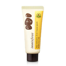 New Authentic Innisfree Jeju Volcanic Liquid Nose Pack 40ml - Wash Off Nose Pack