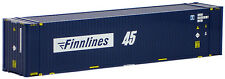 AWM SZ 45 ft Highcube Container Finnlines
