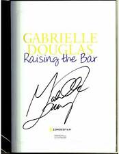 Gabrielle Douglas signed Raising The Bar 1/1 hardcover book Olympic gymnast