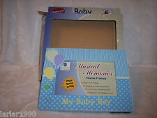 BABY PLANET HOME MUSICAL MEMORIES PHOTO FRAME~ROCK-A-BYE-BABY~4 x 6 FRAME~NEW