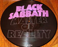 BLACK SABBATH MASTER OF REALITY PICTURE DISC LP