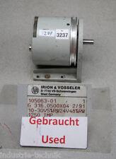 IRION & VOSSELER 105063-01 ENCODER Drehgeber 1250 IMP